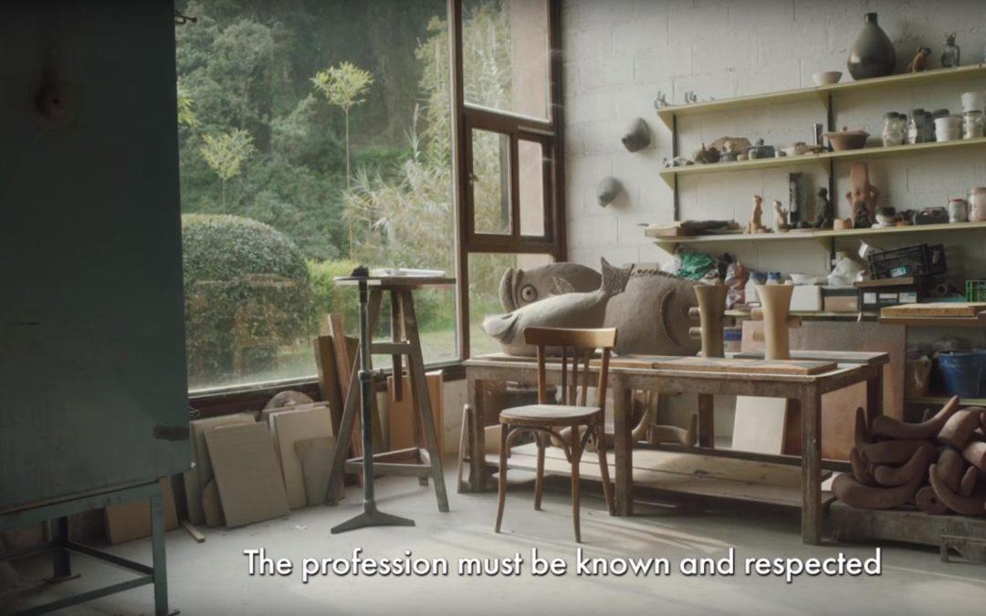 атмосферный ролик о итальянском гончаре