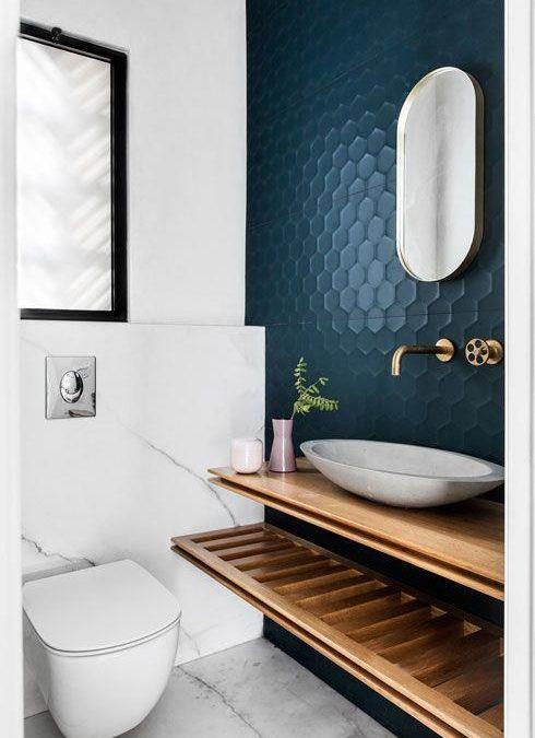 начал ремонт: вдохновение для ванной комнаты