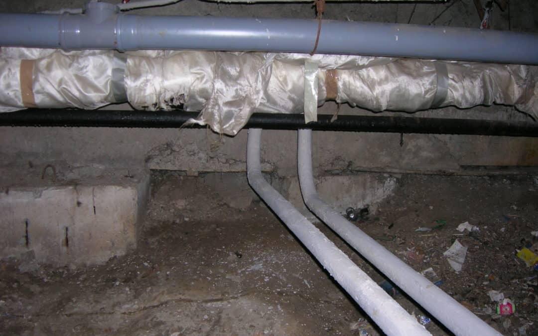 техническое подполье в современном доме – необходимо?
